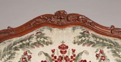 Par Louis I CRESSON (1706-1761) Maître à Paris en 1738 Paire d'exceptionnels fauteuils...