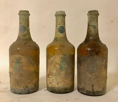 3 bouteilles VIN JAUNE d'ARBOIS - HENRI MAIRE...