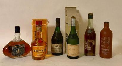 1 bouteille COGNAC FINE CHAMPAGNE - CADURY...