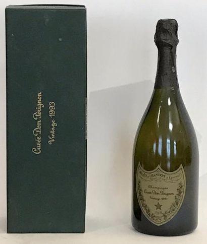 1 bouteille CHAMPAGNE DOM PÉRIGNON 1993 -...