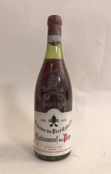 1 bouteille CHÂTAEUNEUF DU PAPE - DOMAINE...