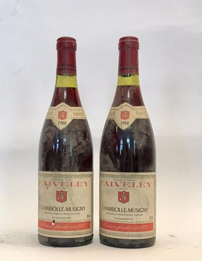 2 bouteilles CHAMBOLLE MUSIGNY - Domaine...