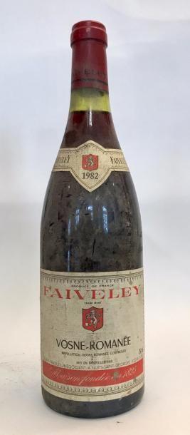 1 bouteille VOSNE ROMANEE - Domaine FAIVELEY...