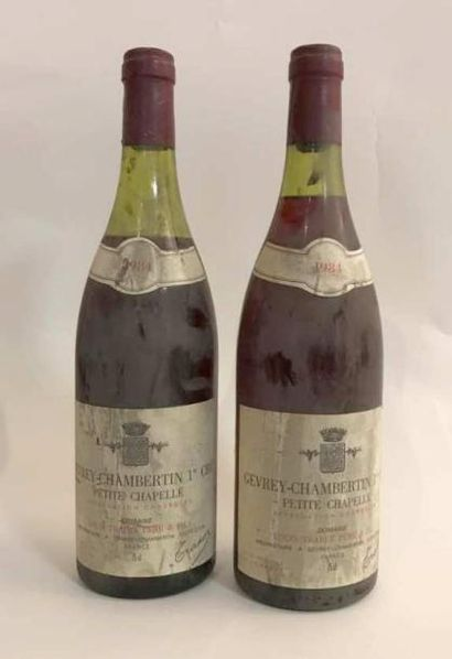 2 bouteilles - Gevrey Chambertin Petite Chappelle...