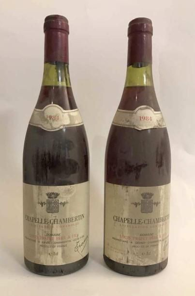 2 bouteilles - Chapelle Chambertin GC Domaine...