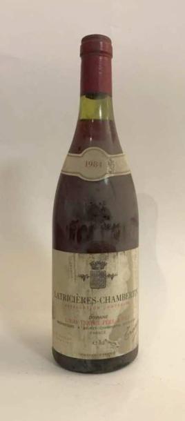 1 bouteille - Latricières Chambertin GC Domaine...