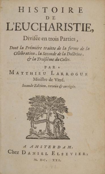 Larroque Matthieu (1619-1684)