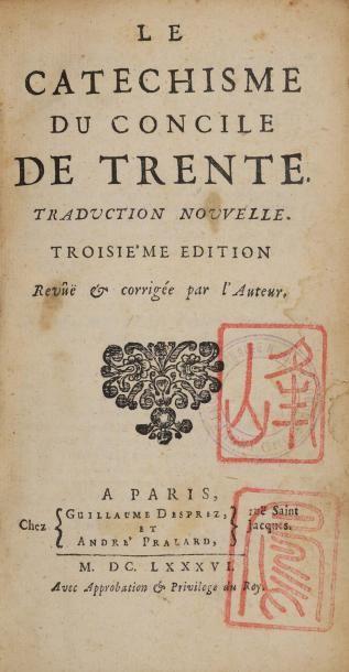 Le Catéchisme du Concile de Trente. Traduction...