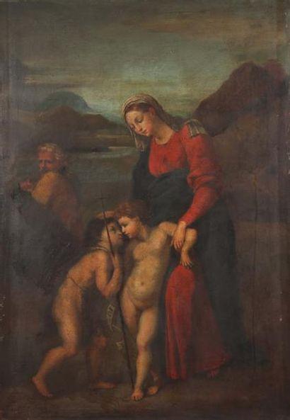 RAPHAEL (Raffaello) Santi (D'après) 1483 - 1520