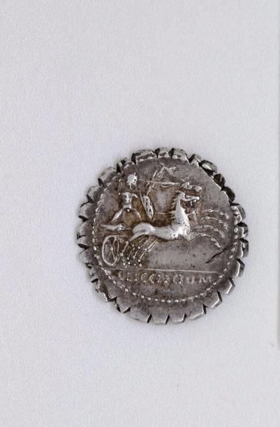 ROME, République. L. Pomponius (118 av.)....