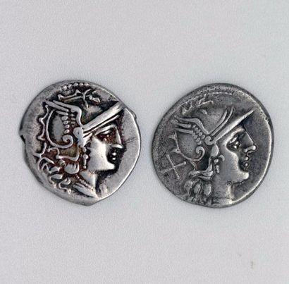ROME, République (vers 210-195 av.). Lot...