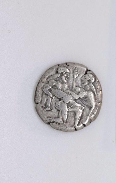 THRACE, Thasos (463-411). Stratère archaïque...