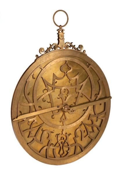 Astrolabe moderne dans le style de Gualterus...