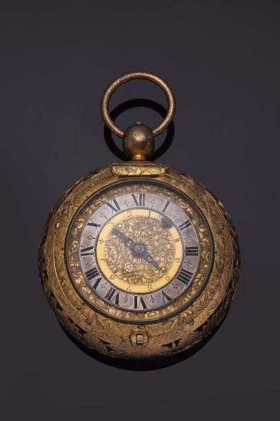 Montre de carrosse à sonnerie au passage et à réveil, signée 'Antoine Dagonneau...