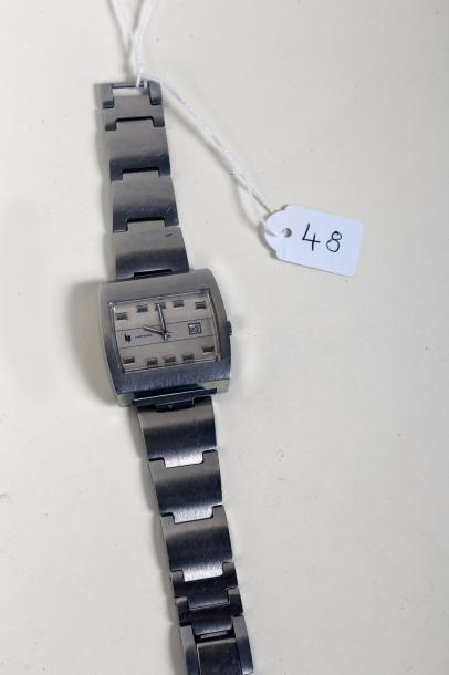 Montre-bracelet Lip electronic' en acier,...