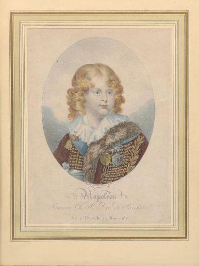 H.18,5 x 14 cm. François-Charles duc de Reichstadt...