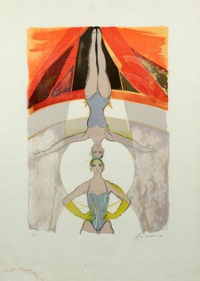H.74 x 52 cm. HILAIRE Camille 1916 - 2004,...