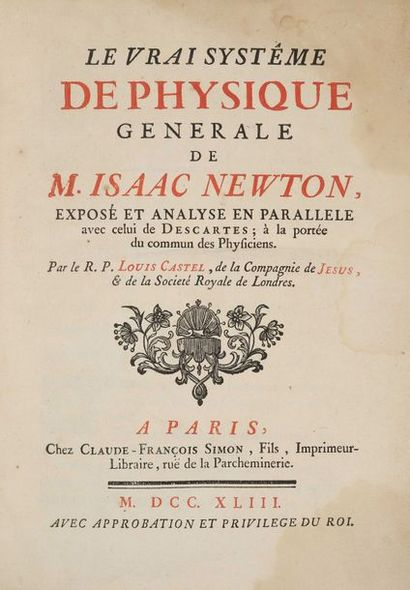 CASTEL, Louis Bertrand.