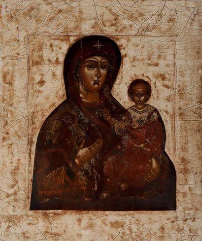 Vierge Hodighitria de Smolensk Le prototype...