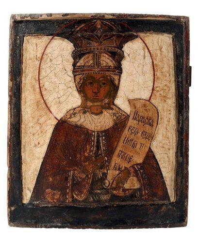 Sainte Parascève Très vénérée en orient,...
