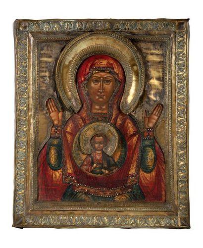 Vierge du «Signe» La Mère de Dieu figure...