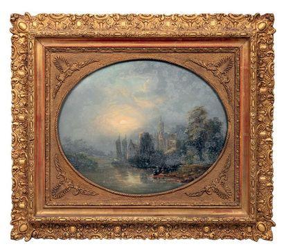 ECOLE FRANCAISE milieu du XIXe siècle