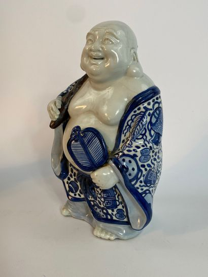 """""""SUBJECT TO THE CERAMIC HOTEI EFFIGY IN THE HIRADO TASTE Japan Representing the..."""