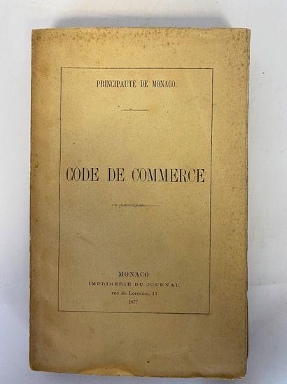 [Principauté de MONACO] Code Pénal de Monaco....
