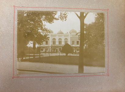 ALBUM PHOTOS (Fin XIX° siècle) Album de 25...