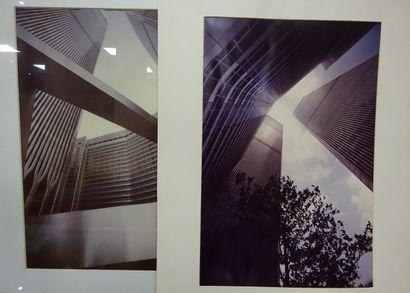Lot de deux photographies sur New york S...
