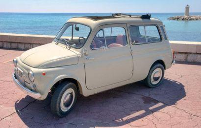 FIAT 500 GIARDINIERA 1968.<br/>INIMITABLE