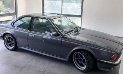 BMW 635 CSI. LUXE CALME VOLUPTÉ