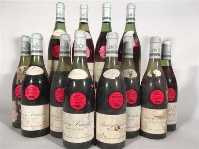 12 B AUXEY-DURESSES Rouge (1 à 2; 3 à 2,8;...