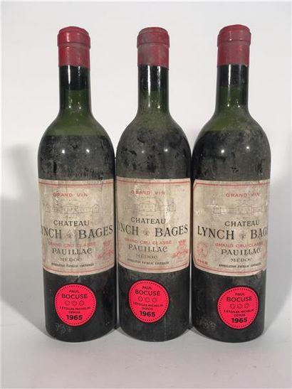 3 B CHATEAU LYNCH BAGES (1 M.E.+; 1 M.E....