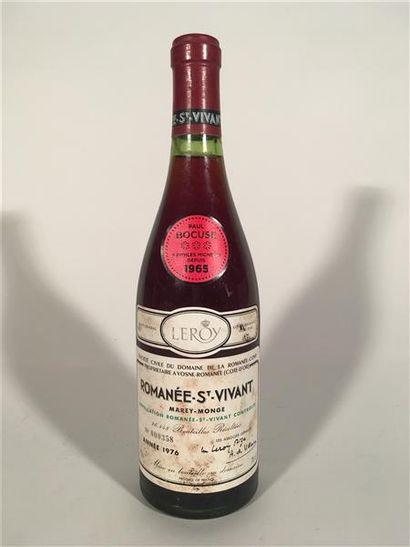 1 B ROMANÉE SAINT-VIVANT (Grand Cru) 1,2...