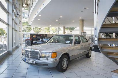 Mercedes 500 SEL Date de mise en circulation:...