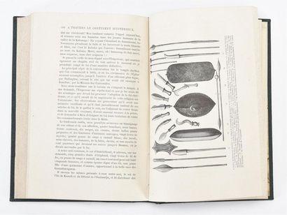 STANLEY (Henri Morton): À travers le continent mystérieux. découverte des sources...
