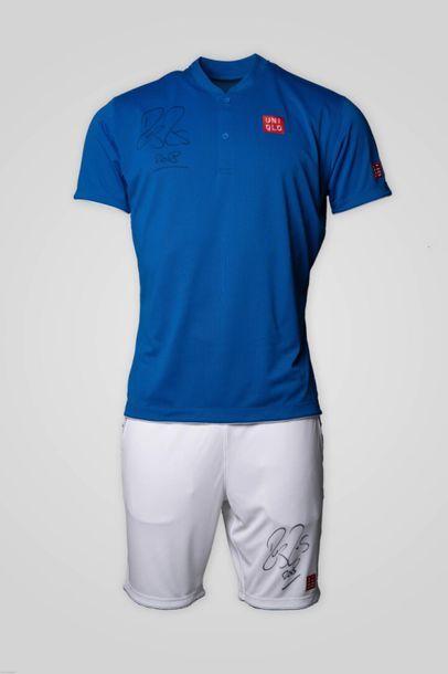 [Tennis] Tenue t-shirt/short Roger FEDERER...