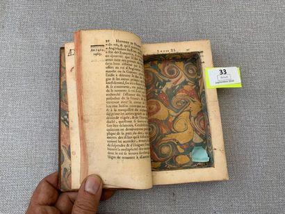 Un livre boite XVIIIe.