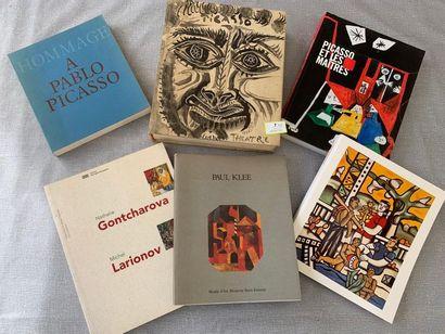Beaux-Arts XXe. Un ensemble de 6 volumes,...