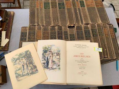 OEuvres complètes illustrées d'Alphonse Daudet....