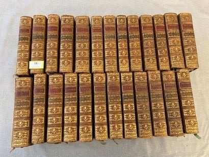 Bible XVIIIe. Un ensemble de 25 sur 30 volumes...