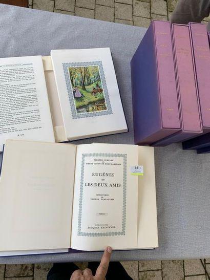 Beaumarchais. Théâtre complet. 5 volumes...