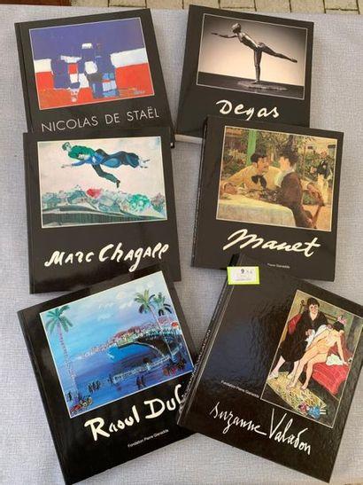 Beaux-Arts. Un ensemble de 6 volumes de la...
