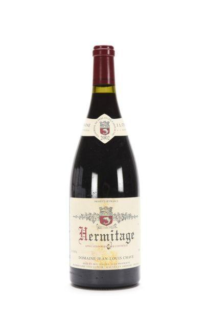 1 Mag HERMITAGE Rouge (e.t.h. à e.l.a.) Jean-Louis Chave 2002