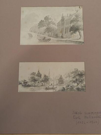 Ecole hollandaise Jakob SCHOEMAKER (1792-1867)...