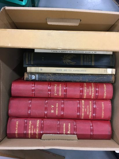 Lot de livres dont le cheval et l'image (sous...