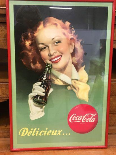Affiche coca cola impression HAVAS, Beuchet...