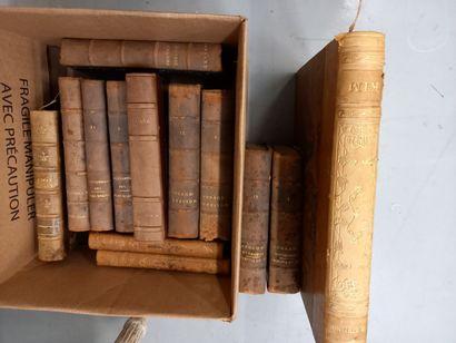 Lot de livres dony Oeuvres de Corneille,...
