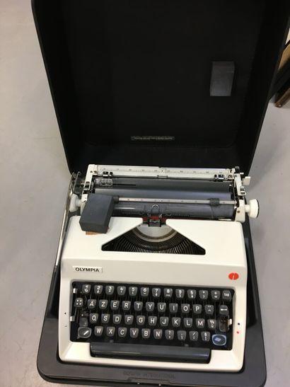 Olympia, machine à écrire